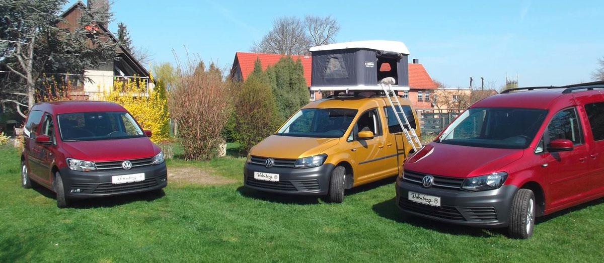 Autohaus Wittenberg - VW Caddy auch als Camper